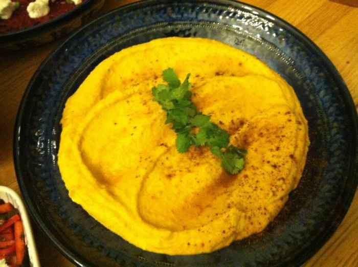 Edible Recipe: Delicious Winter Squash Tahini dip